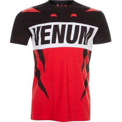 Футболка Venum Revenge T-Shirt Red Black (VENUM-02676)(Фото 1)