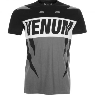 Футболка Venum Revenge T-Shirt Grey Black (VENUM-02676-GB)(Фото 1)