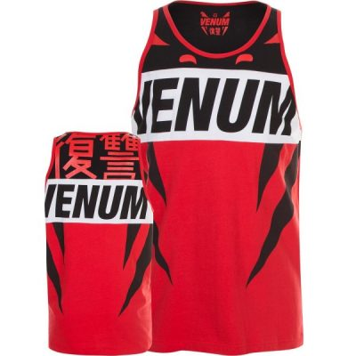 Майка Venum Revenge Tank Top Red Black (VENUM-02691)(Фото 1)
