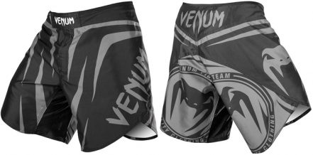 Заказать Venum Sharp Silver Arrow Fightshorts - Black/Silver (V-Sharp-BG)