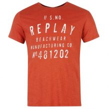 Заказать Футболка Replay Beachwear T Shirt Mens (599858-94)