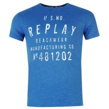 Заказать Футболка Replay Beachwear T Shirt Mens 599858-92