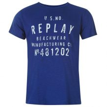 Заказать Футболка Replay Beachwear T Shirt Mens 599858-90