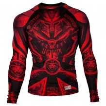 Заказать Рашгард VENUM GLADIATOR 3.0 RASHGUARD - BLACK/RED - LONG SLEEVES (V-02986-100)