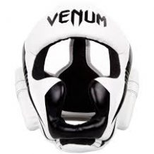 Заказать Шлем Venum Elite Headgear White Black (VENUM-0987-WB)