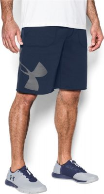 Шорты Under Armour Rival Fleece Exploded Logo Shorts 1303137-410(Фото 1)