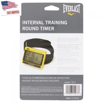 Таймер Everlast Interval Timer and Stop Watch Training Round(Фото 4)