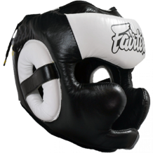 Заказать Шлем Fairtex FULL PROTECTION HG13 (Black White)