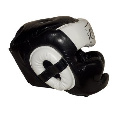 Шлем Fairtex FULL PROTECTION HG13 (Black White)(Фото 3)