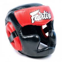 Заказать Шлем Fairtex FULL PROTECTION HG13 (Black-Red)