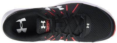 Кроссовки Under Armour Men's Dash RN 2 Black/Red/White Athletic Shoe(Фото 3)