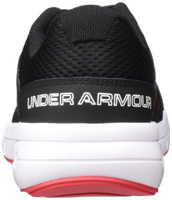 Кроссовки Under Armour Men's Dash RN 2 Black/Red/White Athletic Shoe(Фото 5)