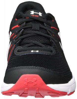 Кроссовки Under Armour Men's Dash RN 2 Black/Red/White Athletic Shoe(Фото 7)