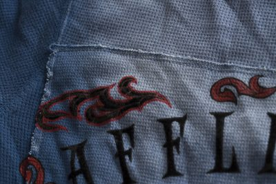 Кофта Affliction Thermal Tried Eagle Blue(Фото 5)