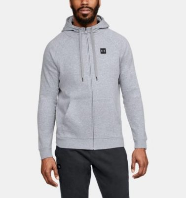 Толстовка Under Armour Rival Fleece Full-Zip Men's Hoodie(Фото 1)