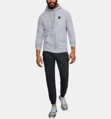 Толстовка Under Armour Rival Fleece Full-Zip Men's Hoodie(Фото 3)