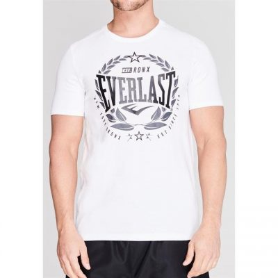 Футболка Everlast Laurel T Shirt Mens (Белый)(Фото 2)