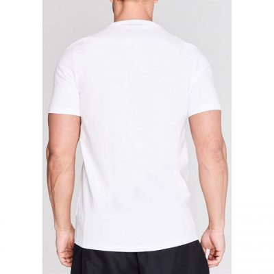 Футболка Everlast Laurel T Shirt Mens (Белый)(Фото 3)