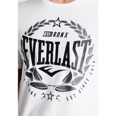 Футболка Everlast Laurel T Shirt Mens (Белый)(Фото 4)