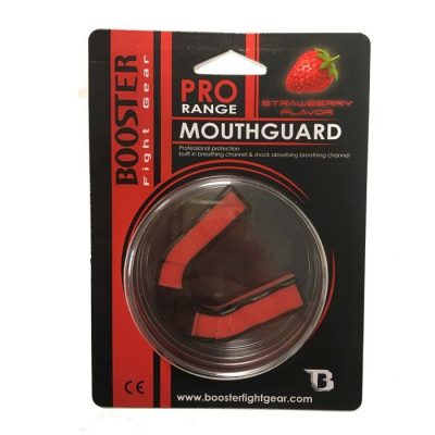 Капа боксерская Booster Mouthguard For Adults - Red/Black(Фото 1)