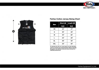Майка Fairtex Cotton Jersey - MTT35(Фото 3)