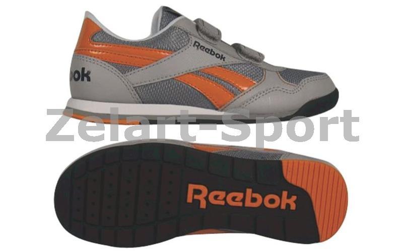 95dae160 Кроссовки детские RBK (р-р RUS 30-35) RETRO RUSH 2V (серый-оранжевый ...