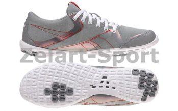 9e168c4b Кроссовки для йоги RBK (р-р RUS 37-41) EALFLEX SLIM ACTIVE (серый-красный)  (J99330)