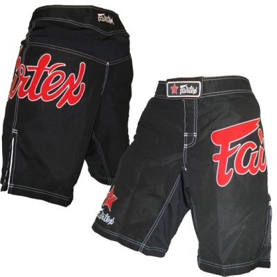 Шорты для MMA FAIRTEX (AB1-BLACK)(Фото 1)