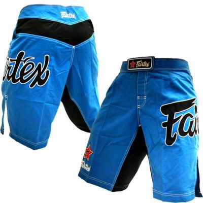 Шорты Fairtex MMA (AB1-blue)(Фото 1)