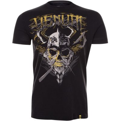 Футболка VENUM VIKING T-SHIRT BLACK (VENUM-2113)(Фото 1)