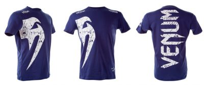 Футболка Venum Giant T-shirt Royal (V-Giant-R)(Фото 1)