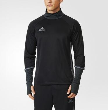 330e8321607 Мужской джемпер adidas Condivo16 Training Top (черный) (COND16)(Фото 1)