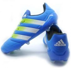 Заказать Бутсы Adidas ACE 16.1 FG/AG Leather (синий) (FG223495050)