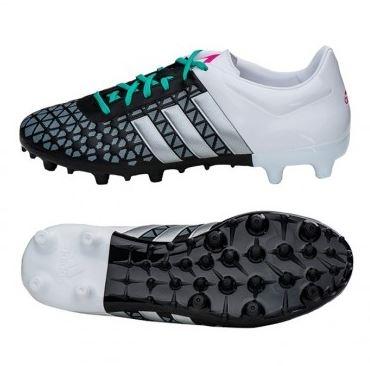 19d146ab Бутсы Adidas Ace 15.3 FG/AG (черно-белые) (XZA243534) купить в ...