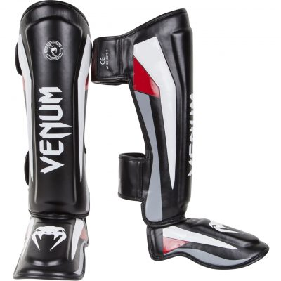 Защита голени Venum Elite Standup Shinguards Black (EU-VENUM-0986)(Фото 1)