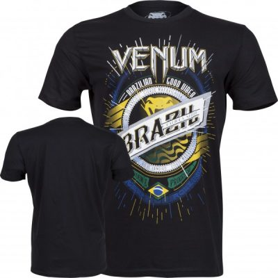 Футболка Venum Keep Rolling T-Shirt Black (V-2028)(Фото 1)