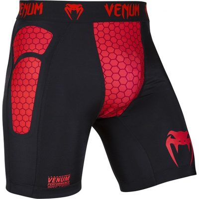 Компрессионные шорты Venum Absolute Compression Shorts Red Devil (V-1092)(Фото 1)