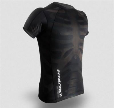 Рашгард PunchTown Fracture Rash Guard Short Sleeve (PT-RG-SFRA)(Фото 1)