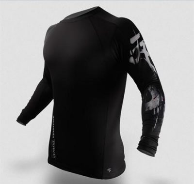 Рашгард PunchTown Deranged Rash Guard Long Sleeve (PT-RG-LDER)(Фото 1)